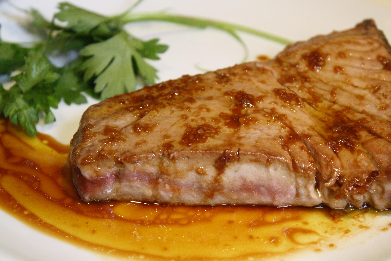 Cocinar Atun Rojo | Atun Rojo Con Salsa De Soja Y Jengibre Recetas Para Uno